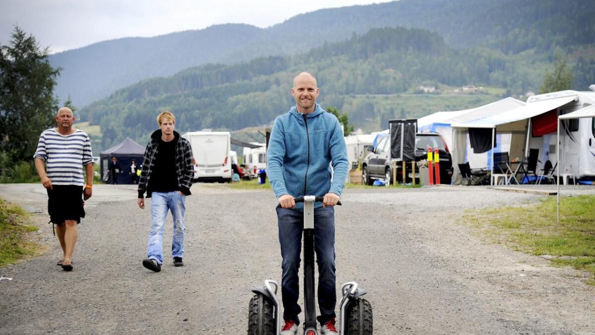 Jens åpnet Notodden bluesfestival – VG