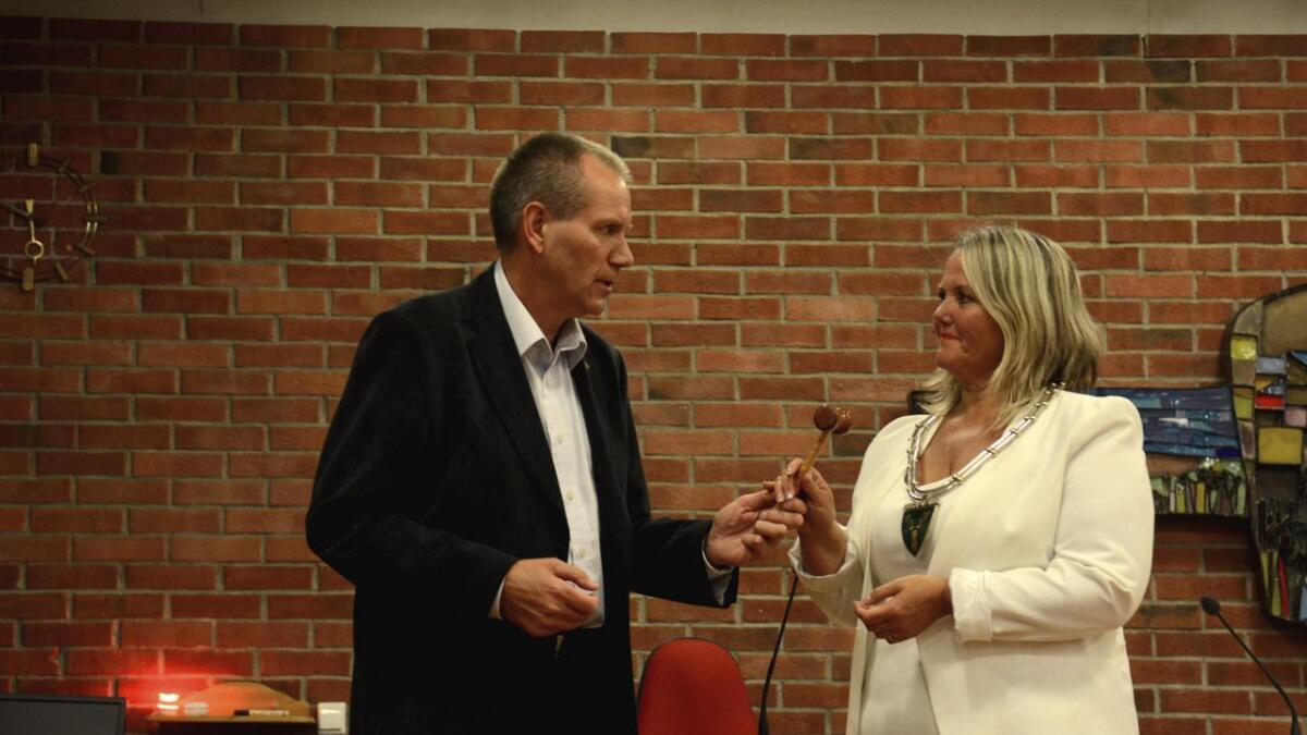 For fire år siden overtok Grete Sjøli (Ap) ordførerklubba i Nes etter Oddmar Blekkerud (Ap).