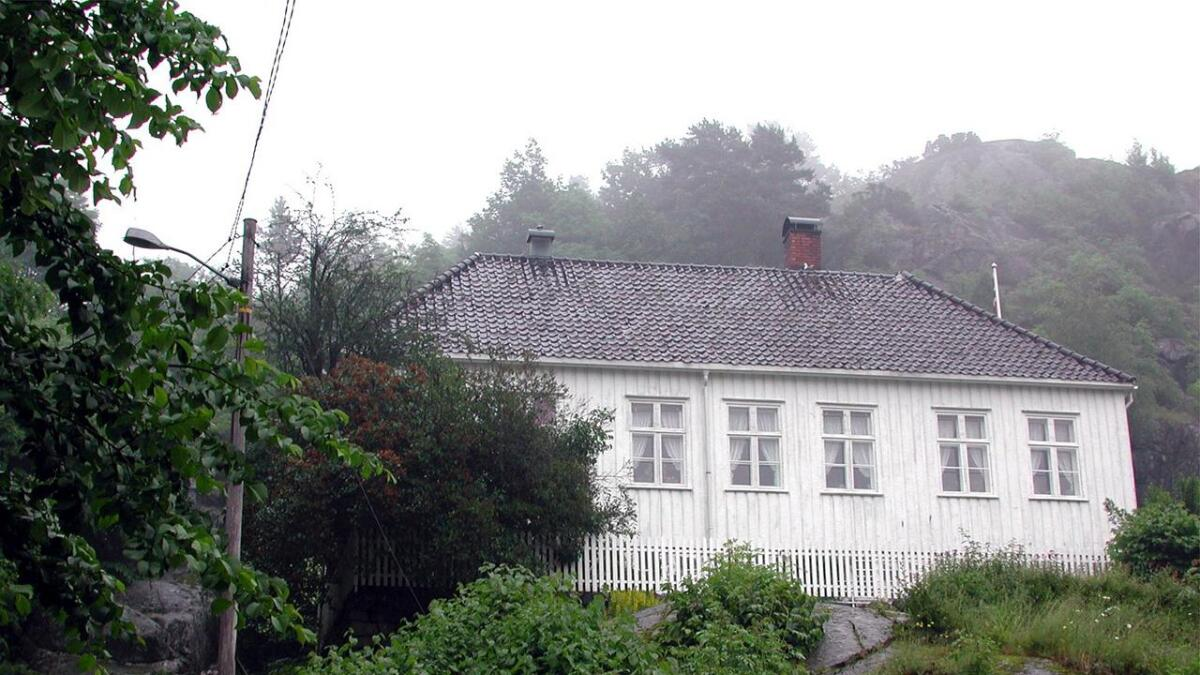 Bakken i Risør, huset der forfatteren Dikken Zwilgmeyer bodde som barn, er blant prosjektene som har fått støtte til utbedring.