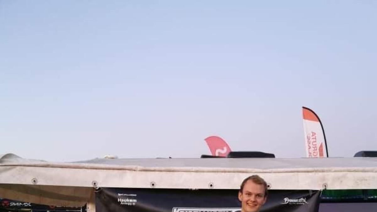 Nikolai Kristansen ble Norgesmester i drifting