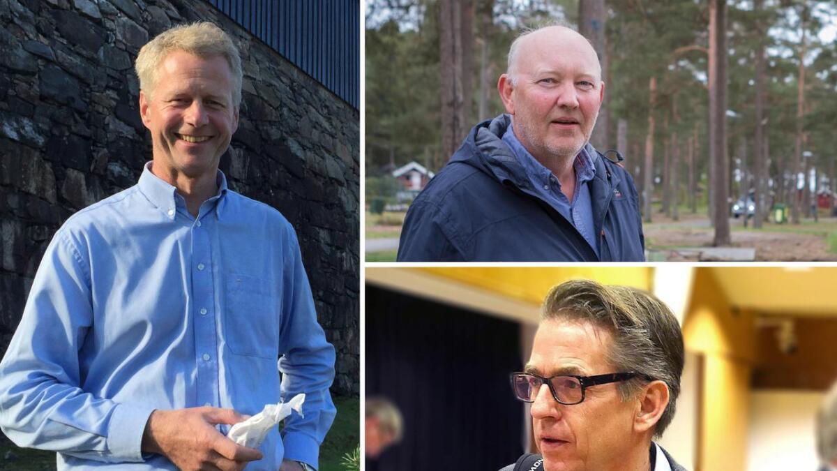 Knut B. Aall, Terje Stalleland og Knut Arne Tveiten har alle meldt seg ut av partiet de ble valgt inn for i 2015.