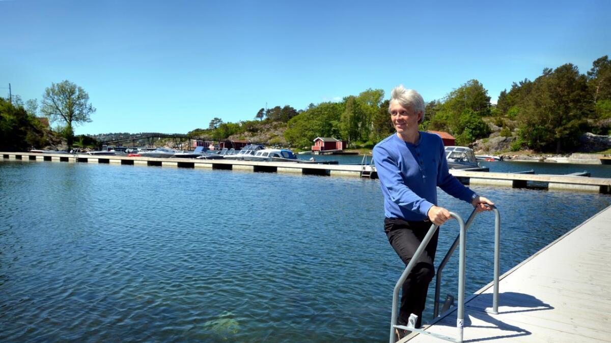 Arnfinn Gaard har investert mange millioner kroner på campingplassen på Marivold. arkivfoto