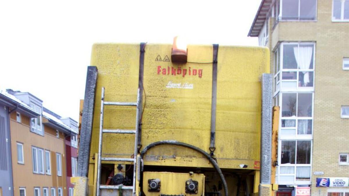 Hva slags salt bruker saltbilen?