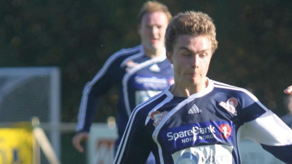 Kristian Dahl flytter hjem og vil forsterke Melbo IL som lørdag spiller toppoppgjør hjemme mot Leknes. (Arkivfoto)