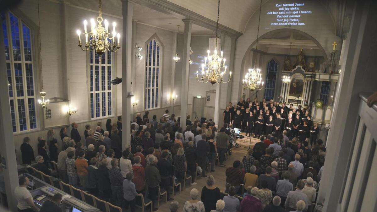 Det vart ein perfekt start på feiringa av 150-årsjubiléet for Bremnes kyrkje