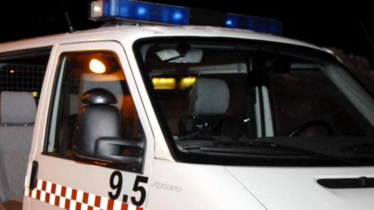 Politi og brannvesen rykket ut til Farstadvatnet.