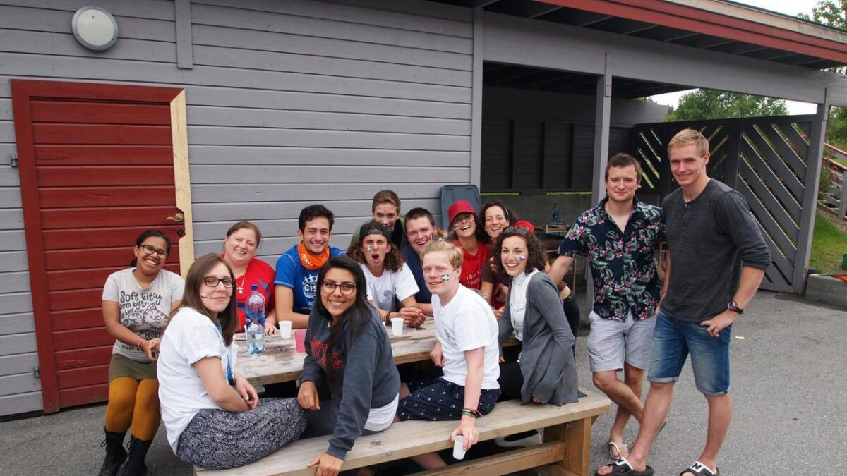 Lederne på leiren knytter også gode vennskap. Flere av dem har deltatt på flere leire, noen så tidlig som i 11-årsalderen.