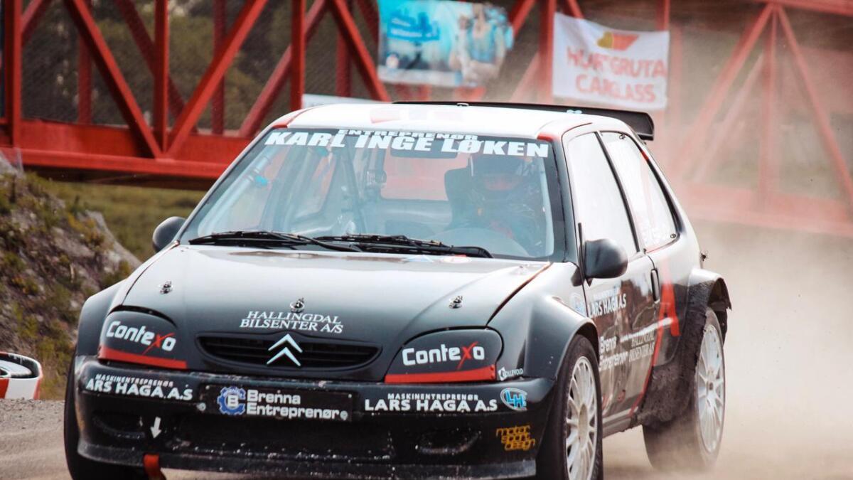 Sindre Biksrud er fornøgd med årets sesong i rallycross.