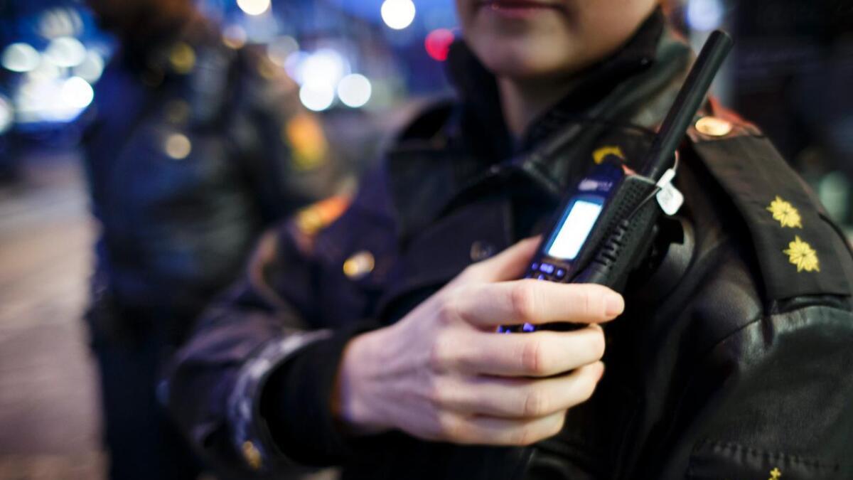 Politiet i Oslo måtte håndtere machetekamp i natt.