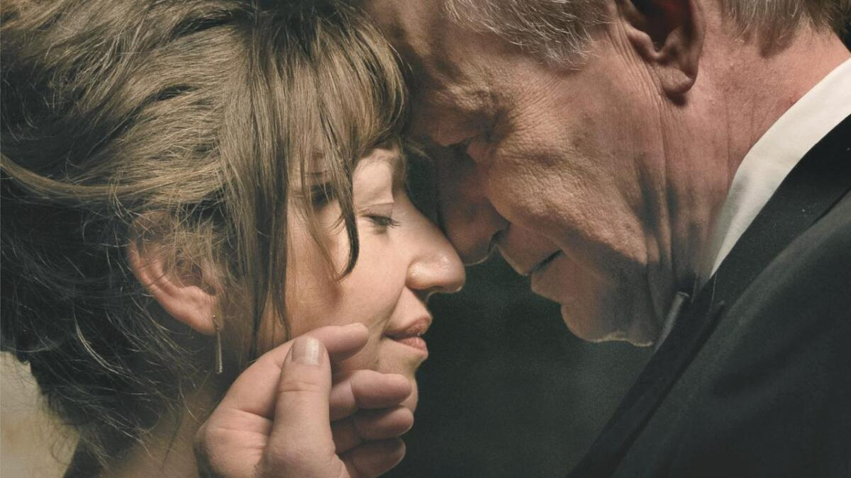Andrea Bræin Hovig og Stellan Skarsgård har hovedrollene i den norske filmen «Håp».