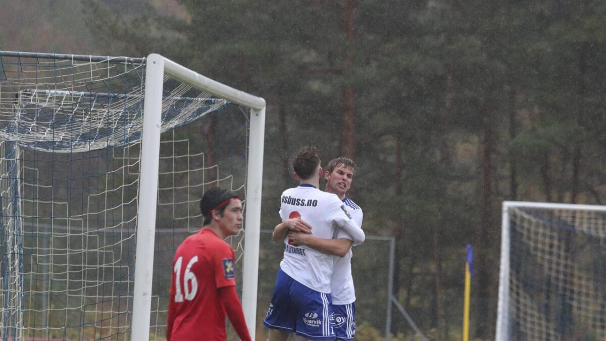 Martin Pedersen kom inn i pausen, og bidrog med to mål og ein målgjevande.
