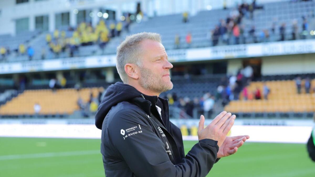 Jerv-trener Arne Sandstø var svært skuffet etter tapet for Start.