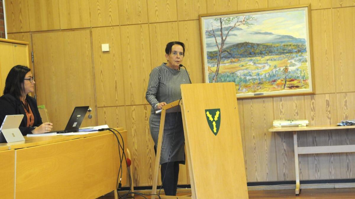 Vivian Wahl (Sp) ble foreslått som ordfører av opposisjonen.