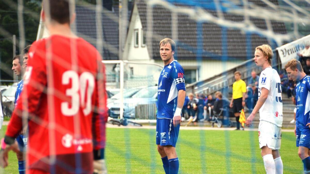Til tross for et mål fra Øyvind Gausdal måtte VFK se seg slått i helgen. arkivfoto