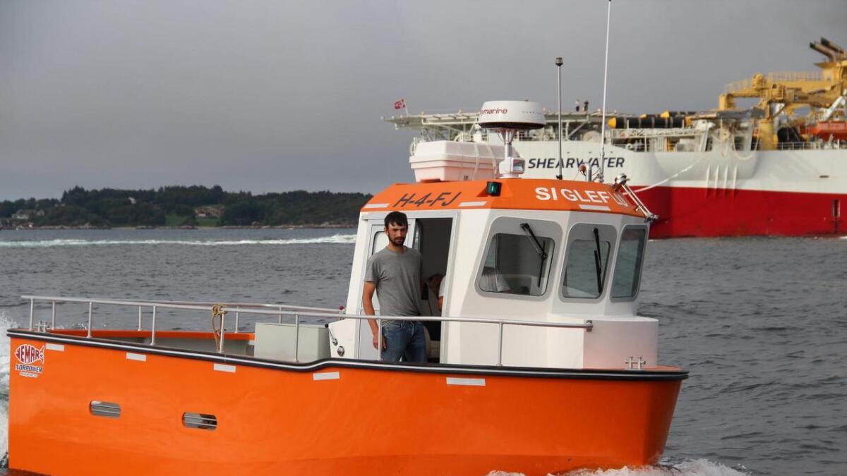 «Sigleflu» har ein toppfart på 24 knop – mykje raskaren enn båten Siglen har fiska med tidlegare.