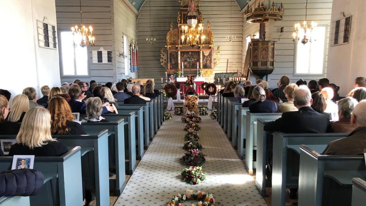 Ni dager etter at hun døde, var det påskeaften begravelse for 26 år gamle Taja Marie Høegh Schulz.