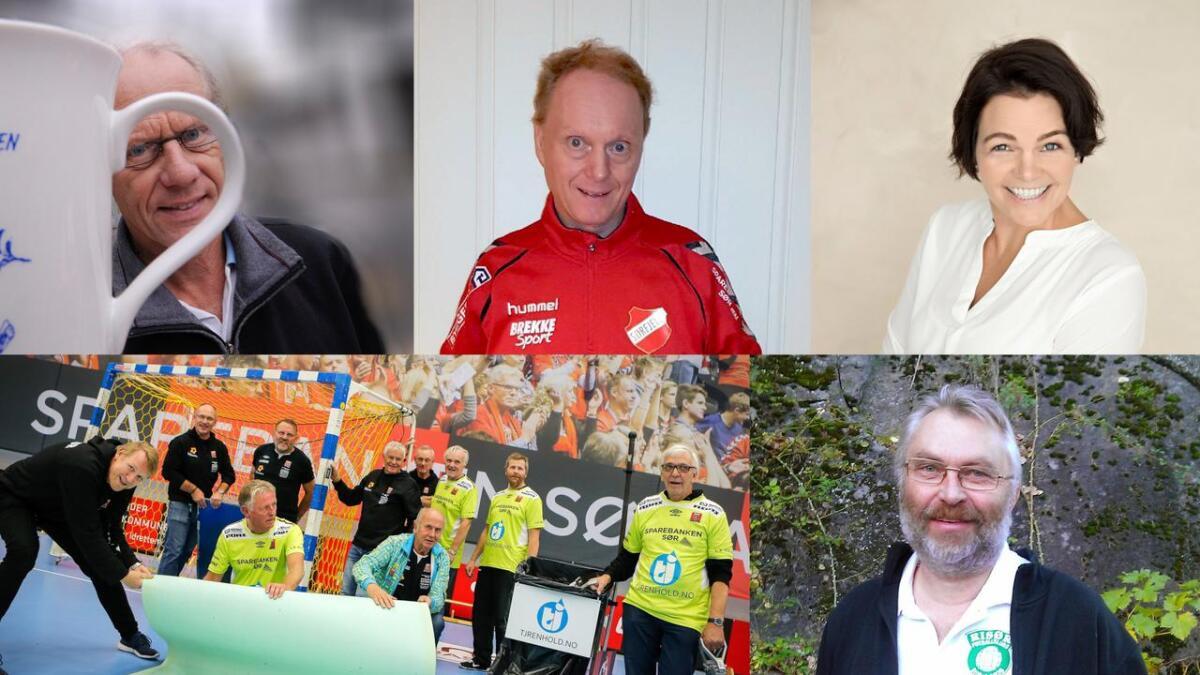 Her er de fem nominerte kandidatene til Folkets ildsjelpris.