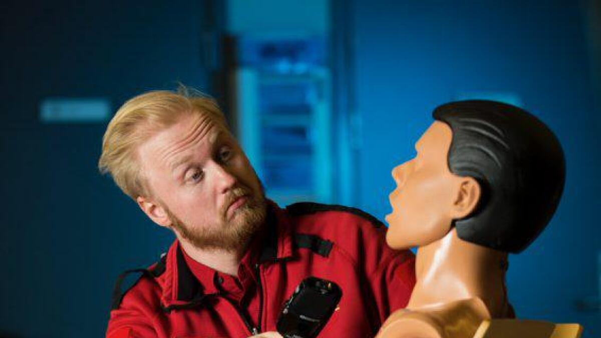 Ole Kristian Andreassen (30) frå Gol er kåra til årets ambulanse arbeidar