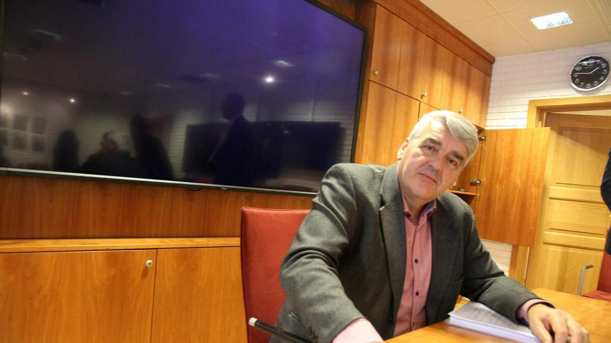 Styreleder Per Anders Oksum