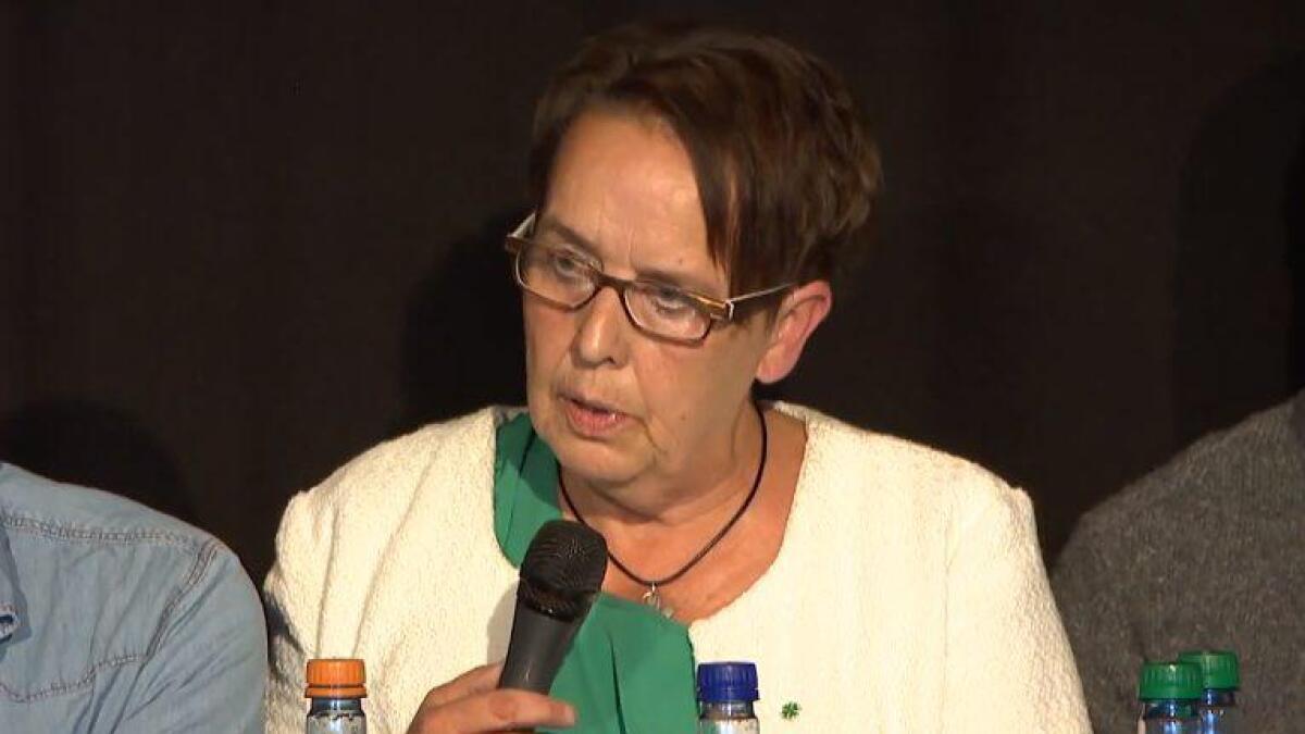 Senterpartiets ordførerkandidat Vivian Wahl