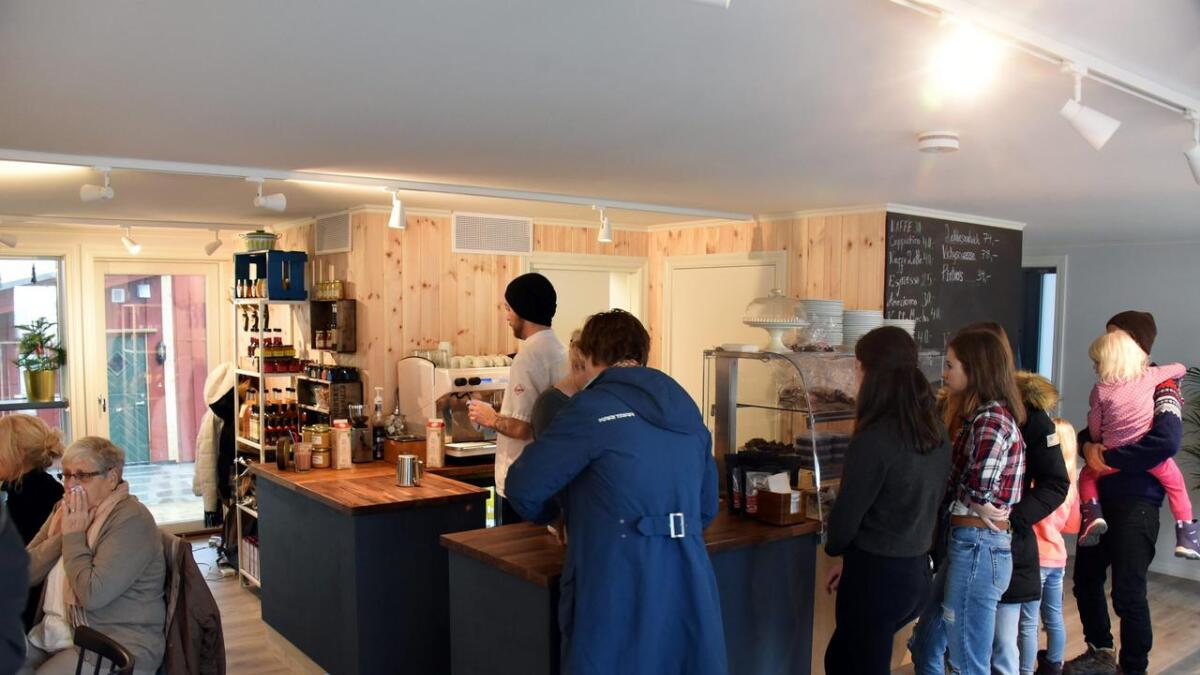 Ny kafé i Vestregate åpnet lørdag.