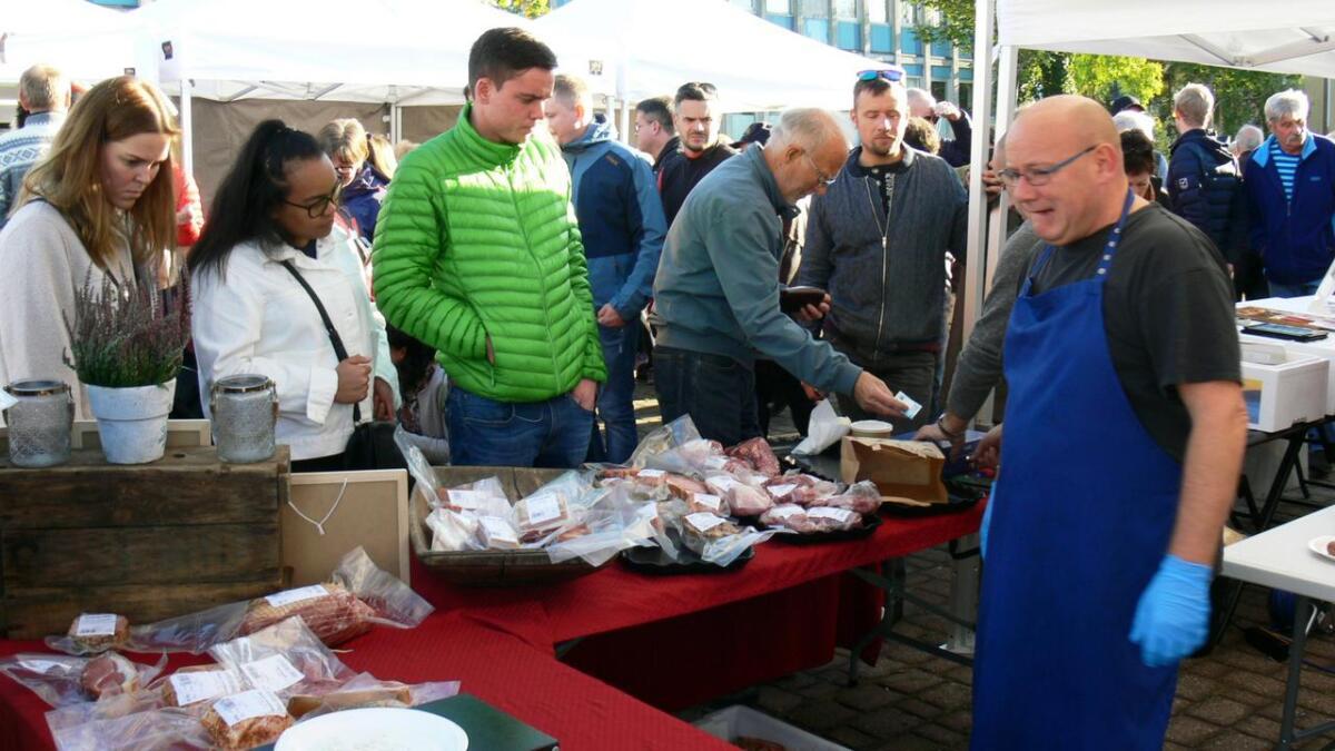 Trygve Ottestads kjøttvarer var også  populære.
