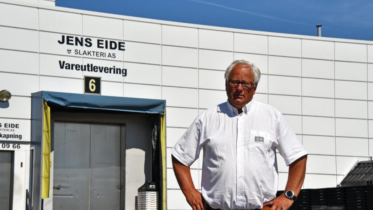 Jens Eide kan si seg fornøyd med bedriftens årsresultat.