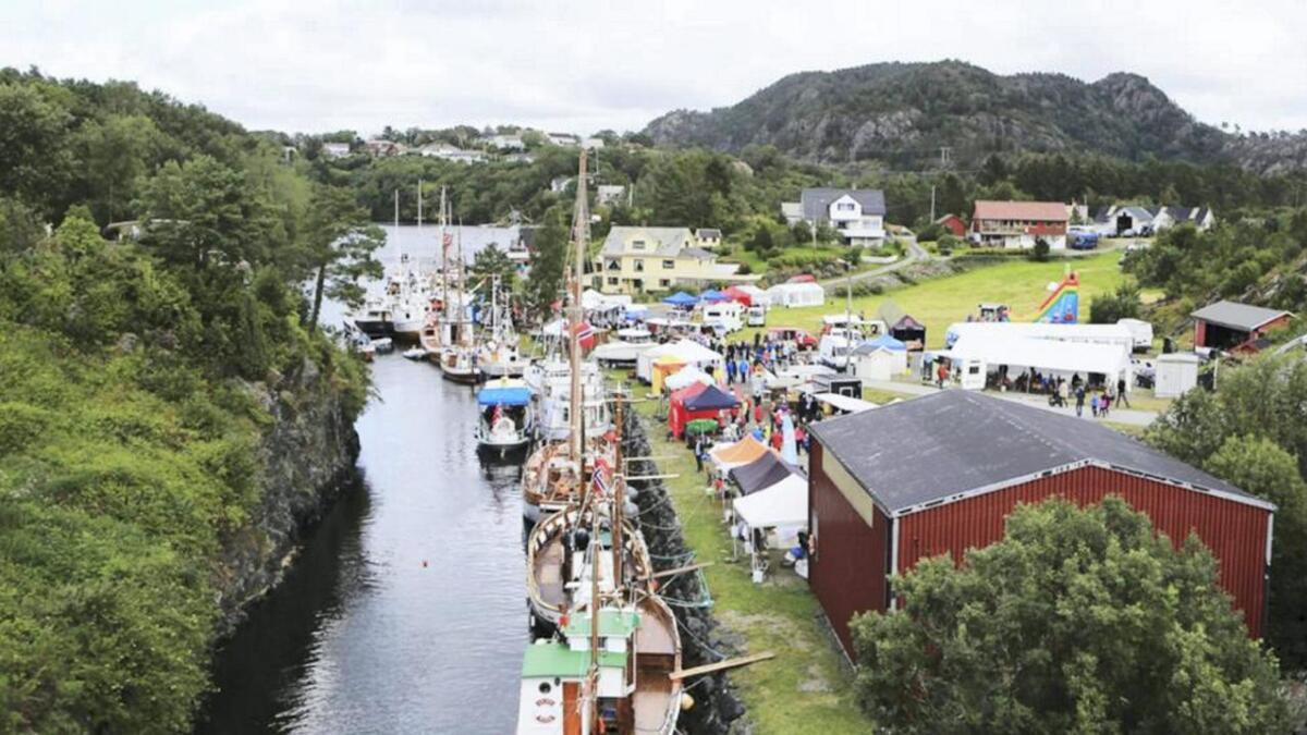 Det er det maritime som står i høgsetet, når lokale organisasjonar inviterer til Kanaldagane i Kulleseidkanalen i september.