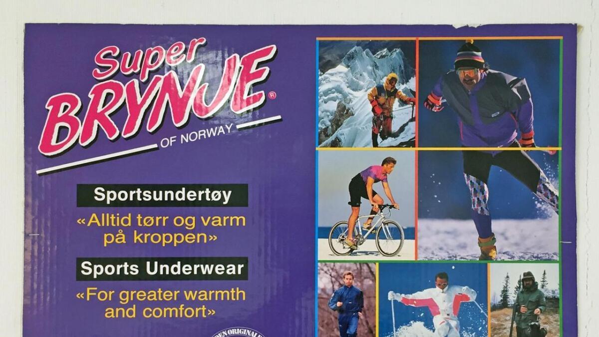 Brynje of Norway har vidareutvikla kaptein Bruns brynje. Her er eit eksempel på sportsundertøy.