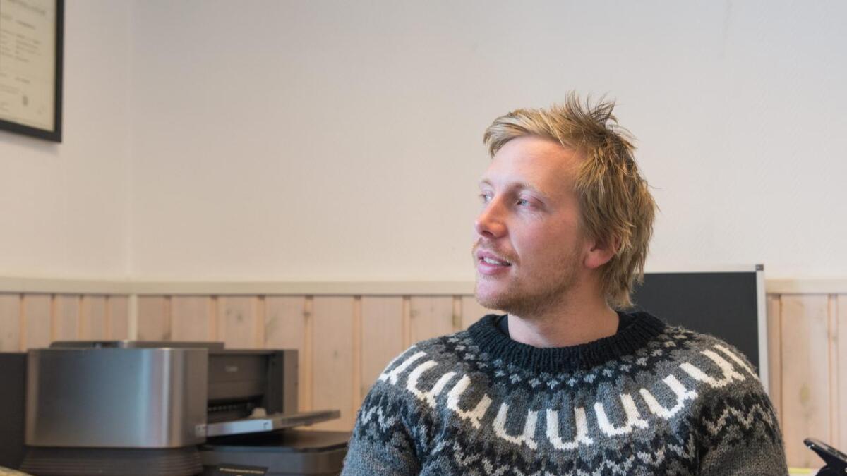 Kjetil Nørstebø fornektar seg ikkje. «U» for Uvdal ber han på brystet.