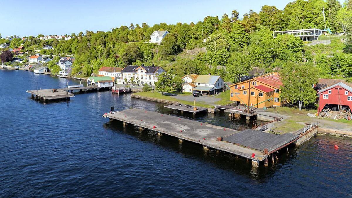 De fredede eiendommene på Bratteklev er en viktig del av den maritime kulturarven i Arendals-området.