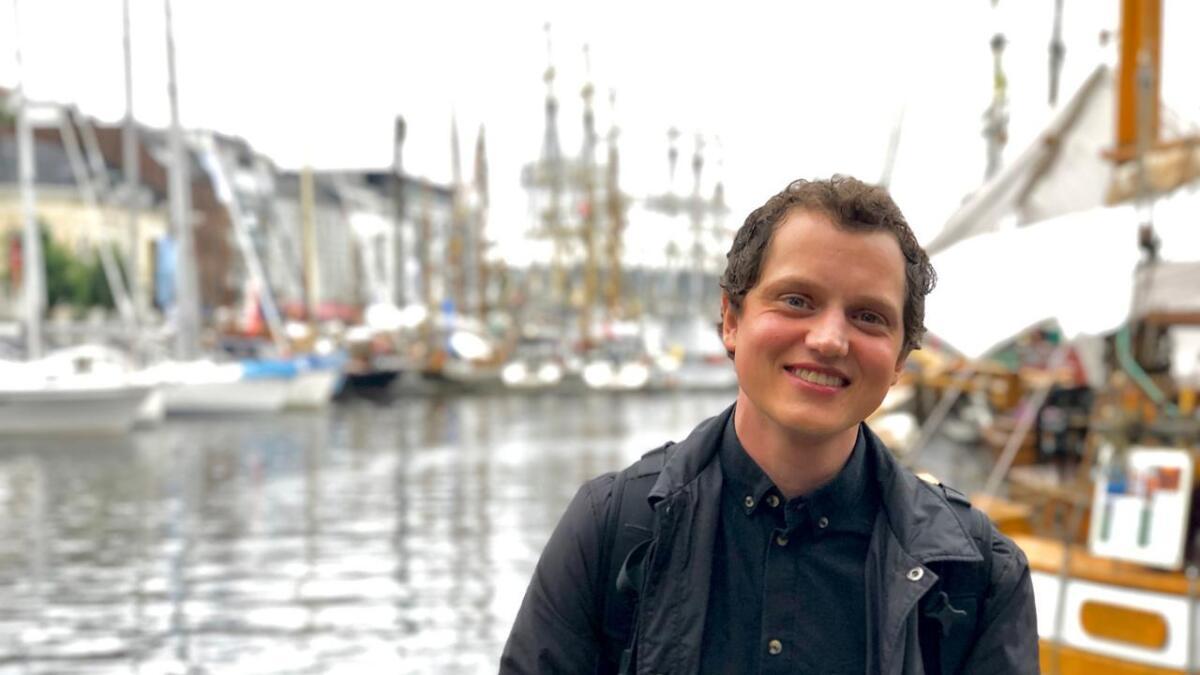 Mathias Rygh blir ikke lei seg hvis folk på Arendalsuka gjenkjenner ham som snyltefaen.