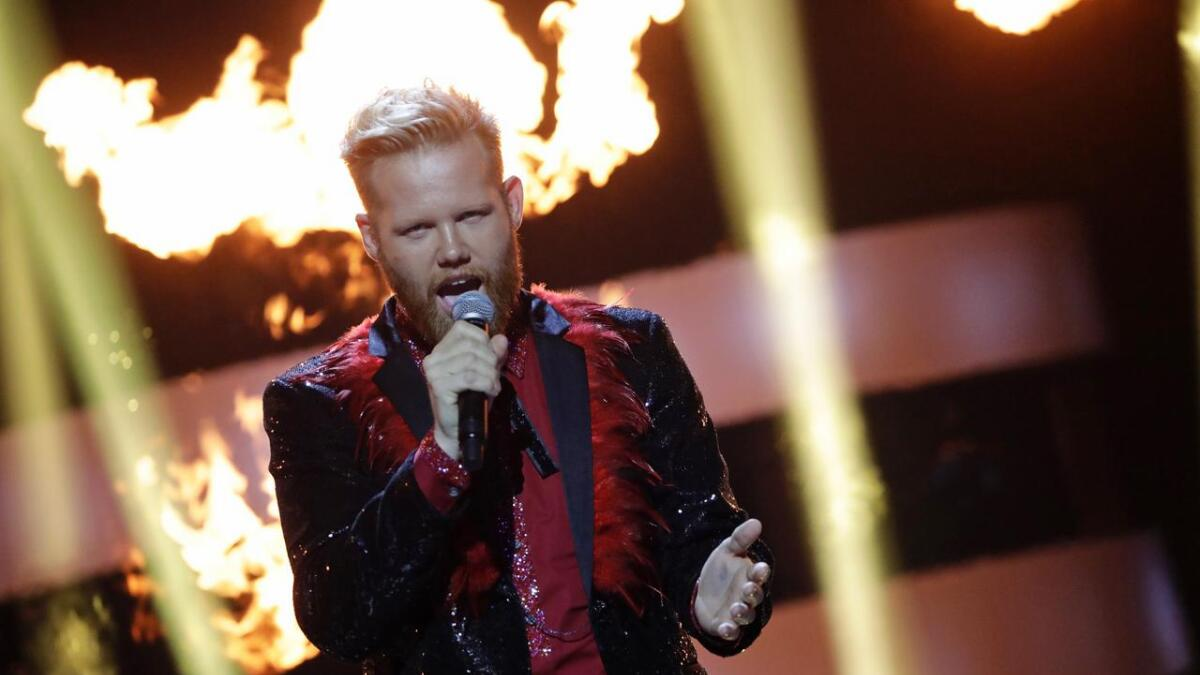 Kim Rysstad imponerte under Stjernekamp, der artistene konkurrerte i låter fra Melodi Grand Prix.