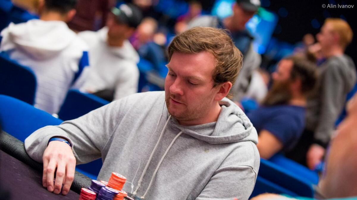 Eirik Bjørbæk (30) fra Skien ble nummer to i poker-NM og vant 735.000 kroner.