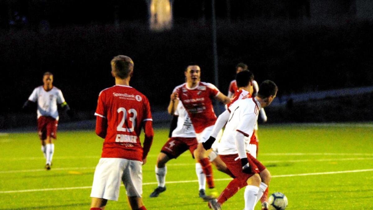 Her fra bortekampen mot Stokmarknes mandag, der Luna vant 6-2.