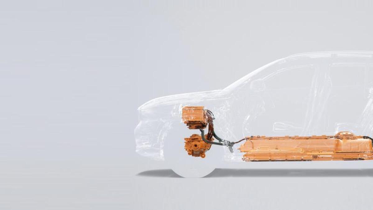 Den første elbilen fra Volvo blir en XC40.