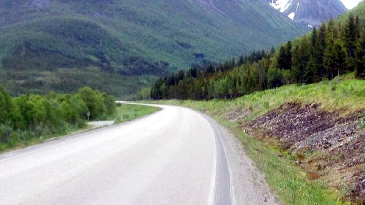 Kjerringnesdalen mot Sigerfjordtunellen.