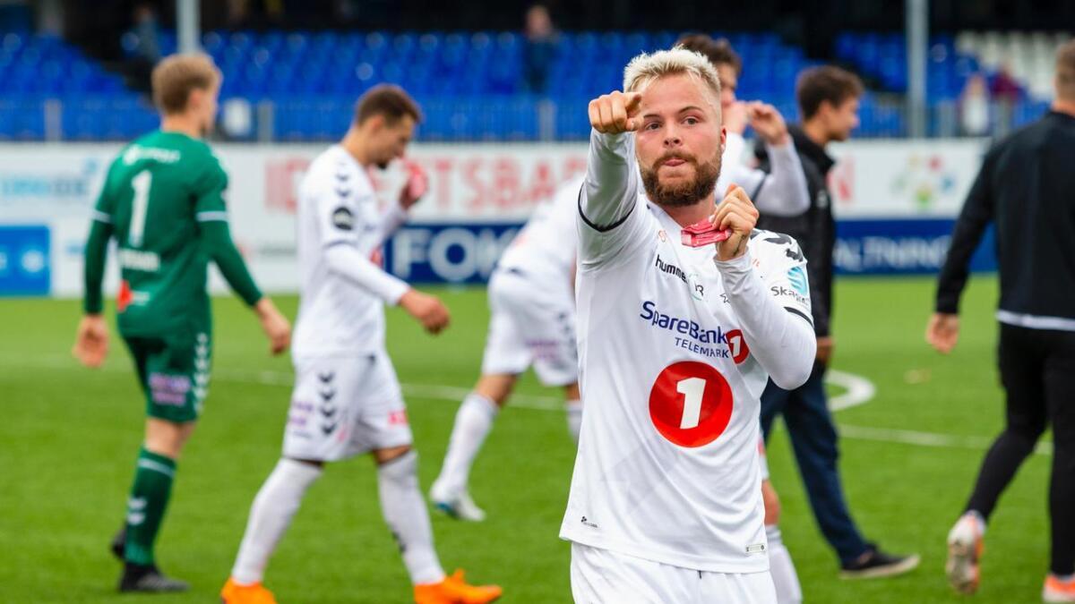 Sander Svendsen forlater Odd.