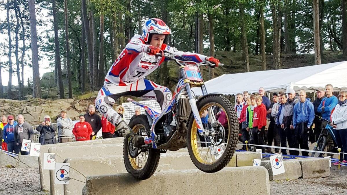Andreas Jørgensen klinket til med god kjøring i forrige helgs NM i Kristiansand.                Begge