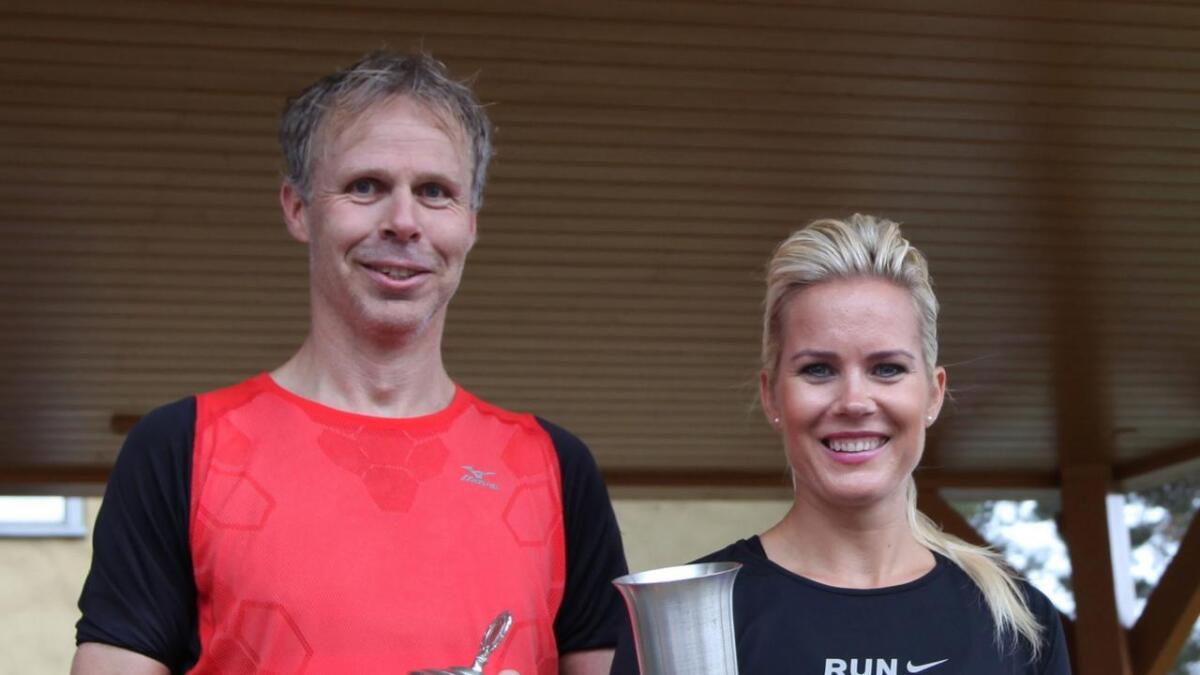 Jan Helge Lislevann og Cecilie Høyåsen vant henholdsvis herre- og dameklassen.
