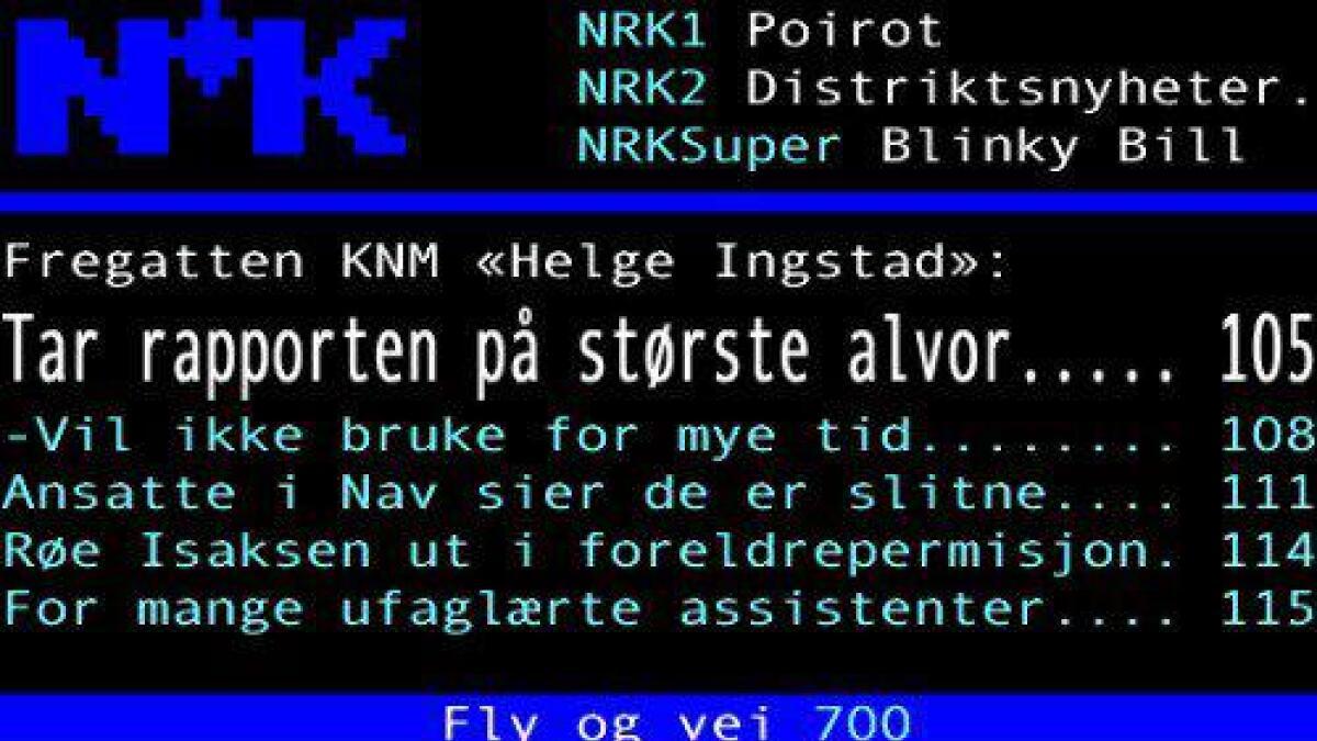 Mange nynorsk-feil.