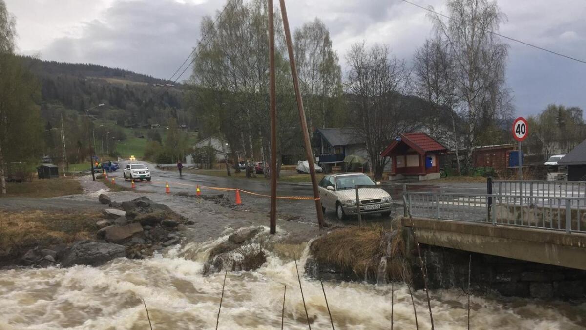 Elva Kvinda har tatt nytt løp ved Vangen i Ål.