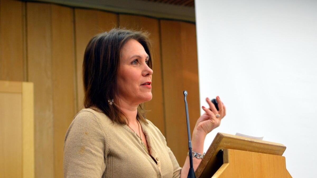 Ordfører i Øksnes, Karianne Bråthen.