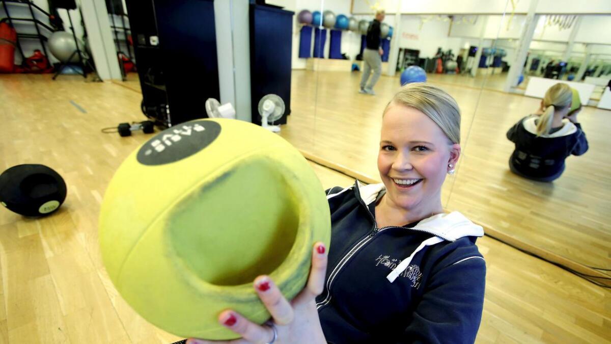 Kjersti Sabrin-Kittilsen er i full gang med opptrening. Hun håper hun skal klare å bli helt frisk.
