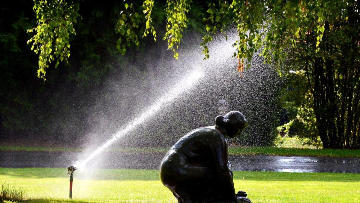 Kommunen har nå opphevet restriksjonene på vanning.