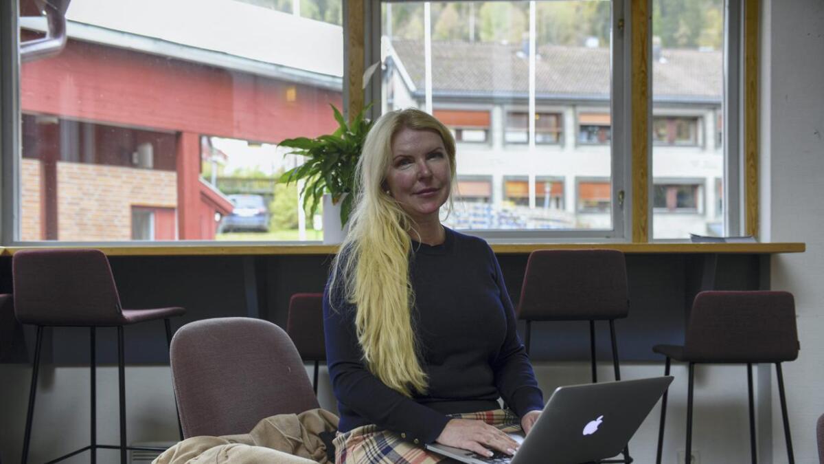 – Det er eit nasjonalt, regionalt og lokalt bygg, seier Elin Høyholm.
