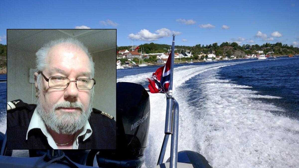 – Ærlig talt, hvis en ikke vet hva styrbord – babord er, så har en ingen ting om bord i en båt å gjøre annet enn som passasjer, skriver Øyvind Kruse i denne kommentaren