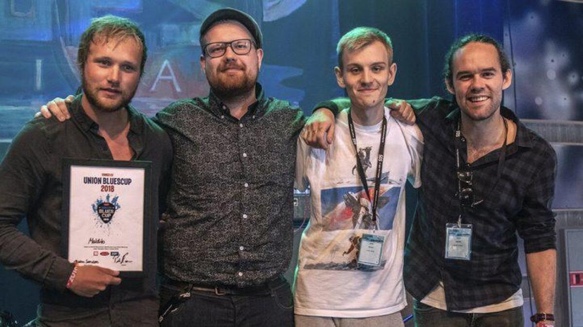 Først ut på Pakkhuset lørdag kveld er Maldito, som vant Union Blues Cup under bluesfestivalen på Notodden.Pressefoto