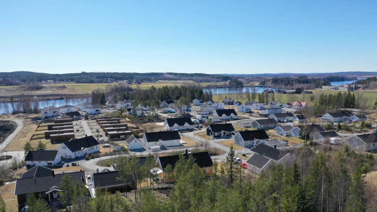 Boligmarkedet i Nes er stabilt, konstaterer Stian KLøfta i Krogsveen.