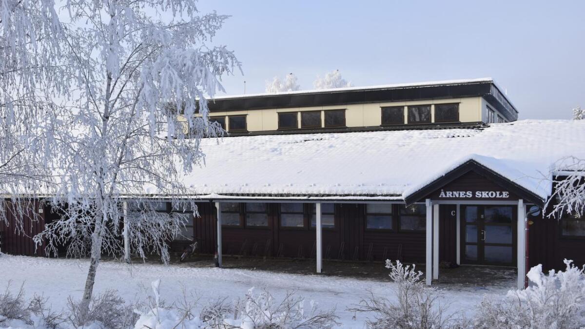 Årnes skole er ved siden av Auli skole den skolen i bygda der elevtallet øker raskest. Om fem år vil skolen ha over 100 flere elever enn i dag.